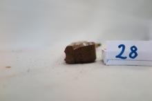 27. Profilhøvel. L:256 H:67 B:28 Vinkel i seng 44 grader. Material: Bjørk. Stål: F.W.Dumhold